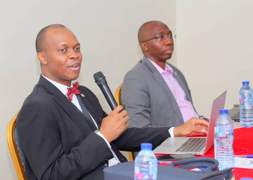 Prof. Chimezie Anyakora discussing Pharmacity
